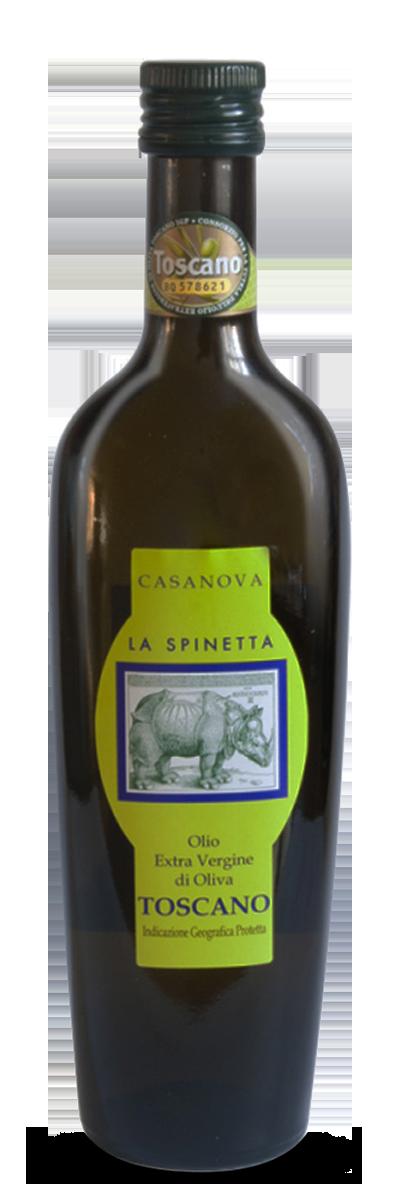 Olio Extra Vergine di Oliva Casanova Toscano IGP
